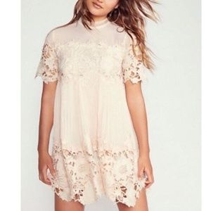 NWOT Free People x Saylor Hollie Lace Mini dress